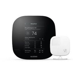 ecobee3 Smarter Wi-Fi Thermostat with Remote Sensor, 2nd Generation -  Ecobee3 sensors know which rooms are occupied to deliver the right temperature in the right places.