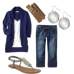 Simple and cute. Love the top.
