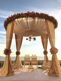 69 elegant wedding scene with arches and background decorations page 39 of 69 Wedding Ceremony Ideas, Wedding Stage Decorations, Wedding Mandap, Wedding Scene, Wedding Chairs, Wedding Table, Wedding Events, Wedding Church, Party Wedding