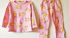 Aprende a confeccionar pijamas para niños(as) - YouTube