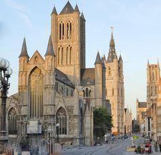 De 3 toren te Gent