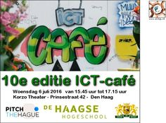 6 Jul - ICT-café  Feel the Rhythm! - http://www.oktip.nl/6-jul-ict-cafe-feel-the-rhythm-korzo-theater/