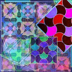 Framed Wallpaper, Islamic Art, Geometry, Cool Photos, Quilts, Blanket, Abstract, Artwork, Frames