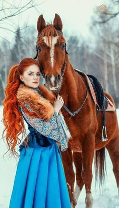 New photography fantasy girl pictures Ideas Horse Girl Photography, Fantasy Photography, Animal Photography, Family Photography, Photography Ideas, Beautiful Redhead, Beautiful Horses, Red Lace Front Wig, Costume Noir