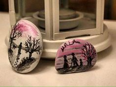 #tasveagacindonusumu #taş #stone #magnet #magnets #urla #yalnızlık #alone #handmade #instagood #instadaily