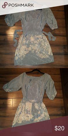 XS Petticoat Alley Silk Dress 100% Silk Dress Petticoat Alley Dresses Mini