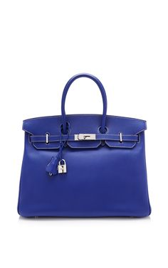 Hermes 35Cm Blue Electric and Mykonos Epsom Limited Edition Candy Collection Birkin by Heritage Auctions Special Collection for Preorder on Moda Operandi