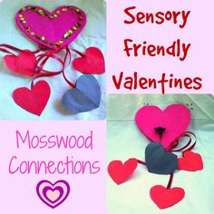 Sensory Friendly Valentines These sensory friendly valentines smell good and can also be used as fidgets for the hands.