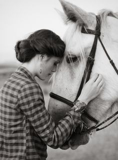 The bond between a girl and her horse can never really be explained in any words man has invented....