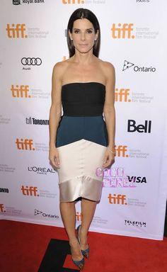 Sandra Bullock Continues To Gravitate Towards Color At The Toronto Film Festival