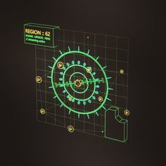 """mike murdock on Twitter: """"Flying today, so I made some navigation interfaces /// Safe travels, everyone! #interface #ui #ux #hologram #scifi https://t.co/8d7xQxeu0A"""""""