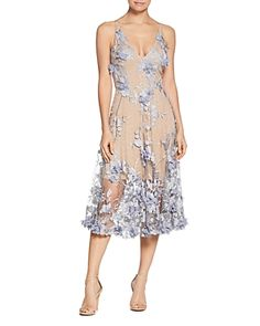 Dress the Population Audrey Floral Midi Dress Women - Bloomingdale's Wedding Guest Gowns, Wedding Dresses, Party Dresses, Figure Flattering Dresses, Midi Dresses Online, Dress The Population, Floral Midi Dress, Flare Skirt, Fit And Flare