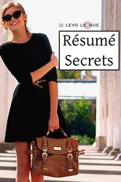 The Most Helpful Resume Advice You'll Ever Receive ~ Levo League