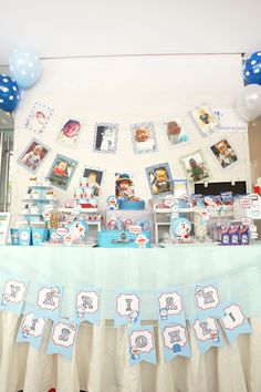 Doraemon Theme dessert / candy table