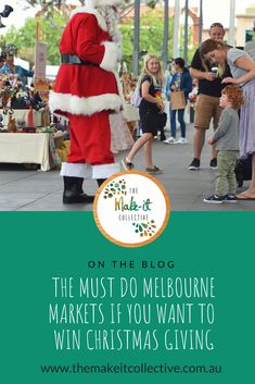 The Must Do Handmade Melbourne Markets If You Really Want to Win Christmas Giving // A lineup of Melbourne's best markets popping up over the festive season Handmade Market, Handmade Gifts, Melbourne Markets, The Make, How To Make, Consumerism, You Really, Giving, Christmas Shopping
