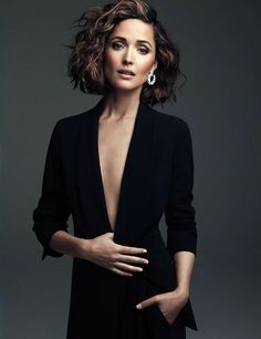 Rose Byrne Photograph by Steven Pan.