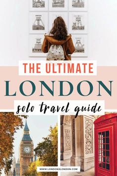 Solo travel in London doesn't need to be daunting! Check out this insider's guide to the best things to do and tips for your solo travel London trip. Everything you need to know before you travel to London. #london #solotravel #travel #vacation