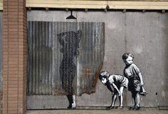 Banksy 2015 in Weston-Super-Mare