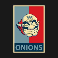 Check out this awesome 'Onions%21' design on @TeePublic!