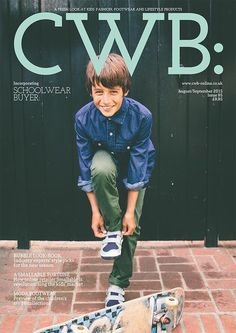 Plae_UK shoes on the cover of the Sept/Aug 15 issue of CWB magazine  #alegremedia