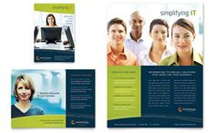 Home Security Systems Flyer Ad Word Template Publisher - Word templates for brochures