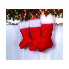 Deluxe Plush Santa Stocking 19 -- This is an Amazon Affiliate link. See this great product.