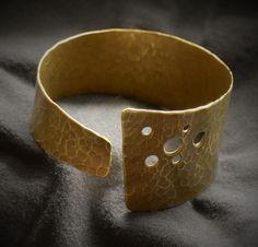 hand made brass bracelet