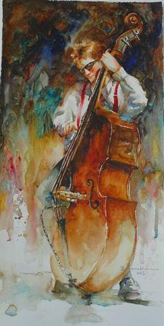 ~ Bev Jozwiak: Bass-Man