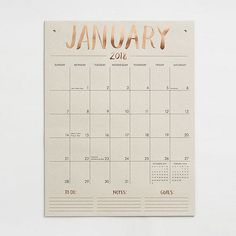 15 of the Most Beautiful (& Inspiring) Wall Calendars for 2018