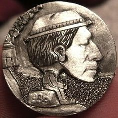 JOEY BLAYLOCK HOBO NICKEL - SITTIN' FER A SPELL - BHMM - 1936 BUFFALO NICKEL