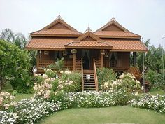 modern country home in thailand - Google Search