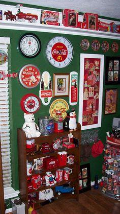 Coca-Cola Cookie Jars & Clocks