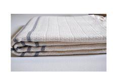 Turkish Hand Towel by DokumaAtelier I Remodelista