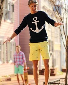 53 Awesome Mens Preppy Style Ideas for Summer - Bellestilo Moda Preppy, Preppy Mode, Preppy Style, Men's Style, Ivy Style, Adrette Outfits, Preppy Outfits, Summer Outfits, Fashion Outfits
