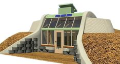Simple Survival Earthship Design – Off Grid World