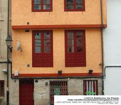 Building in the Plaza del Corregidor in Ourense (Galicia, Spain) All scales available