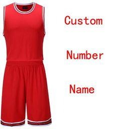 d325b5d3e56 2018 Custom basketball set , Men College cheap basketball jerseys , USA  Baketball jersey Polyester Shirt Shorts uniforms L-5XL