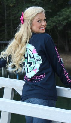 Introducing the Monogrammed Simply Southern Collection! Simply Southern T Shirts, Southern Outfits, Southern Fashion, Preppy Outfits, Cute Summer Outfits, Preppy Style, Cute Outfits, My Style, Preppy Clothes