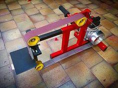 DIY | The belt grinder - YouTube