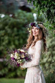 pretty boho bride