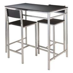 Hanley 3 Piece Pub Table Set