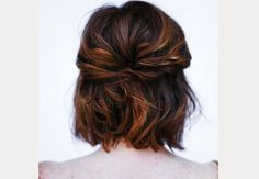 Wedding Hairstyles for Medium Length Hair ~ we ❤ this! moncheribridals.com