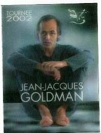 Jean-Jacques Goldman ticket 2002