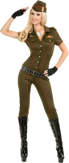 Air Force Angel Adult Costume from BuyCostumes.com