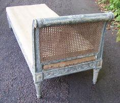 Antique Furniture, Outdoor Furniture, Outdoor Decor, French Daybed, Antique Paint, Louis Xvi, Queen Anne, Devon, Vintage Art