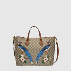 Gucci Exclusive soft GG Supreme tote