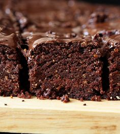Triple Chocolate Brownies + 50 of the most delicious brownie recipes on the internet!