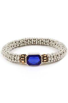 my birthstone.bracelet blue