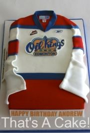Hockey Jersey Cake Free Tutorial On How To Make This Is My Facebook Page