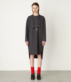 SLIT DESIGN DRESS